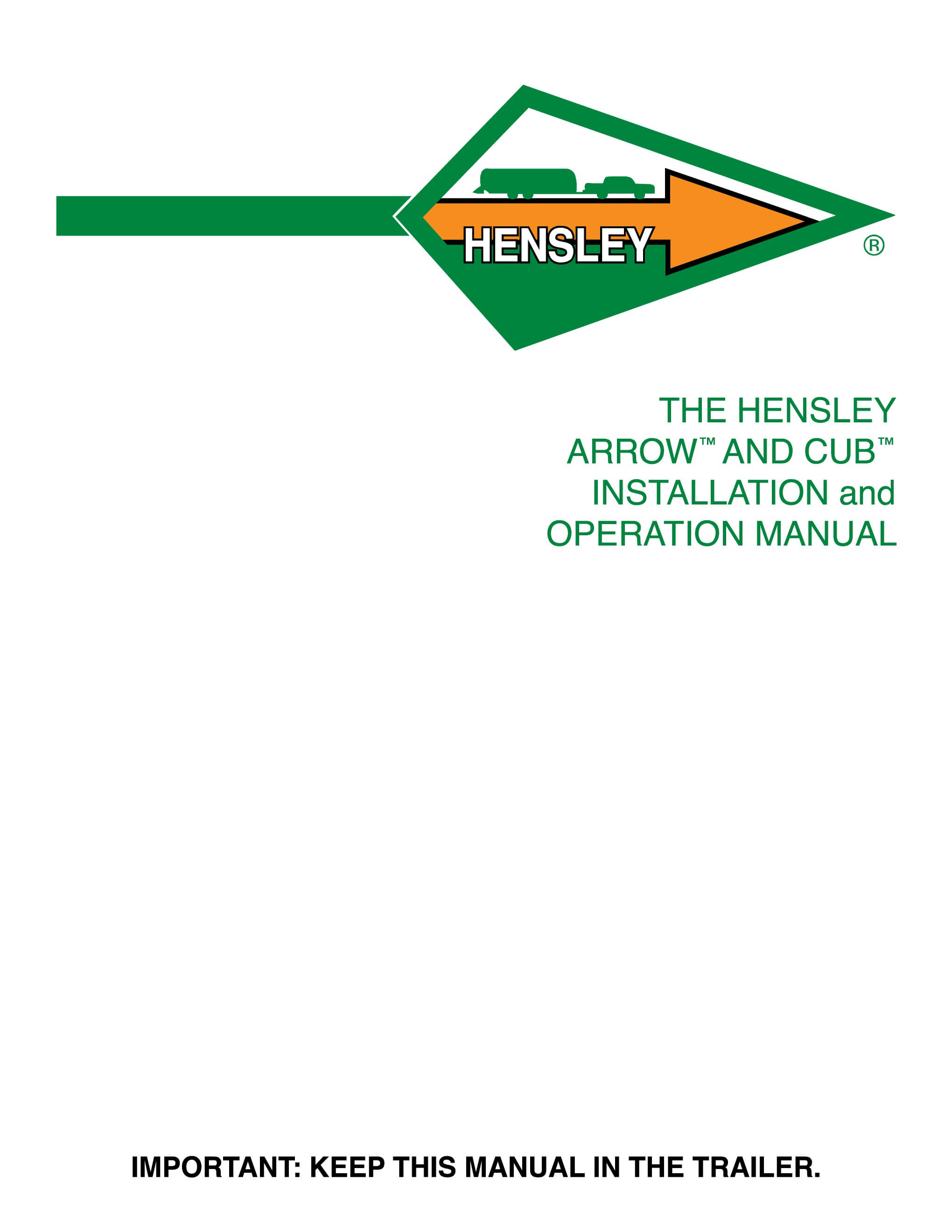 ... Array - user manual downloads rh hensleymfg com